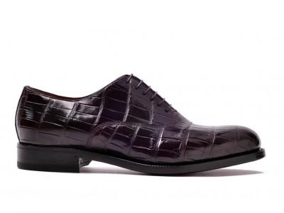 scarpe artigianali pelle lucida